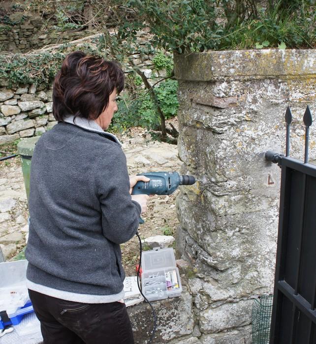 Decorazione Del Nostro Cancello Da Maria Letizia Bittoni