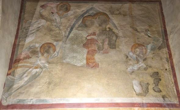 Assomption de la Vierge avec quatre anges, 1290