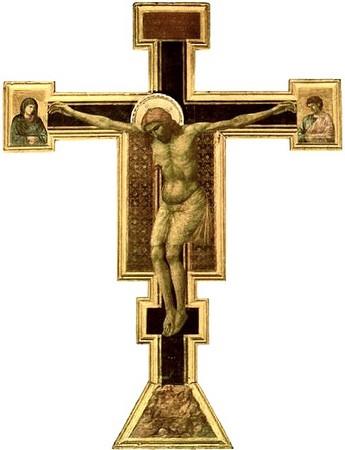 Giotto. Crucifixion. Santa Maria Novella, Florence. Vers 1290.