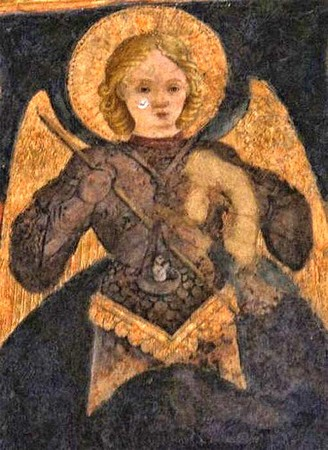 L'archange Saint Michel.