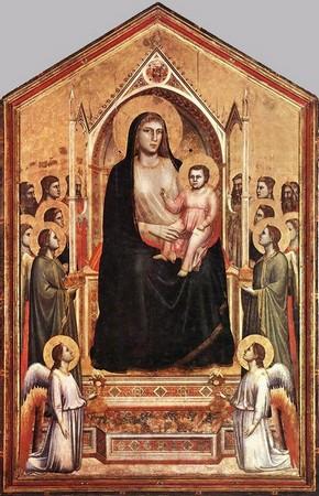 Giotto, Maestà di Ognissanti.  Florence.