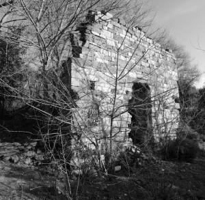 Les ruines de l'église San Leonardo en hiver   -   4/03/2013