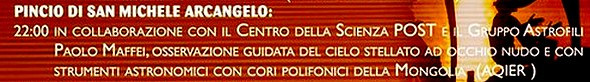 PROGRAMME 20 GIUGNO -  PINCIO DI SAN MICHELE ARCANGELO