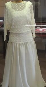 La robe de mariée.