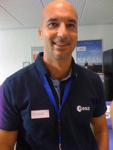 Luca Parmitano, astronaute italien.