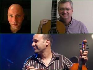 En haut, à gauche Peter Freeman, à droite Rick Cox. En bas, Kheir Eddine M'Kachiche.