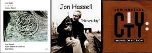 Quelques pochettes de disques de Jon Hassell.