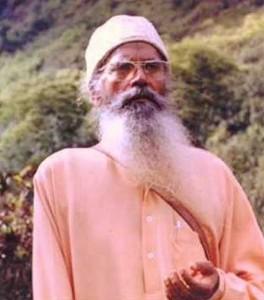 Le Pandit Prân Nath, musicien et chanteur classique indien.