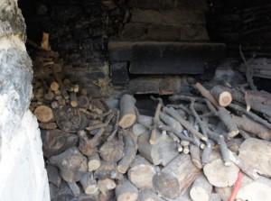 L'ancien four à pain commun, unique en son temps sur l'Isola Maggiore.
