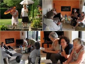 Reunione con Italo Marri da Fabiana e Gianni Wilmotte   -   28/06/2012.