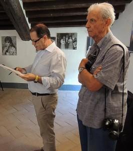 Mario Squadroni e Enrico Valentini   -   7/09/2013, Isola Maggiore.