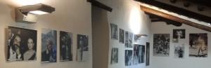 Una vista parziale delle foto esposte presso il Museo del Merletto (Isola Maggiore).