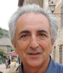 Stefano Di Stasio, le 8 septembre 2013, dans la via Guglielmi (Isola Maggiore).