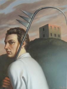 Quasi un rifugio, 2007   -   Huile sur toile, 50 x 40 cm