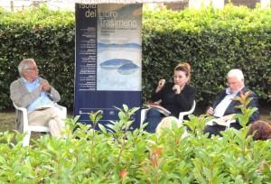 Da sinistra a destra, Carlo Ponti, Stefania Limiti e Roberto Segatori.