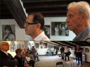 In alto, Mario Squadroni ed Enrico Valentini. Di seguito, alcuni dei partecipanti.