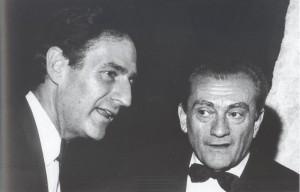 Luchino Visconti di Modrone, conte di Lonate Pozzolo (1906-1976), regista   -   Spoleto 1965.