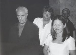 Michelangelo Antonioni, regista, (1912-2007),   -   Todi, 23 agosto 1997.