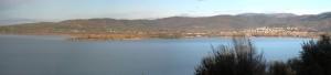 Au sommet de l'Isola Maggiore, la partie (celle en direction de Tuoro) de la superbe vue panoramique.
