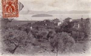 1902   -   Isola Maggiore vue de Tuoro-sul-Trasimeno.