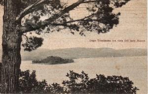 1907   -   L'Isola Minore vue depuis les hauteurs du versant nord de l'Isola Maggiore