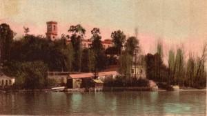 1931   -   Le lieu d'abordage au pied de la Villa Isabella Guglielmi à l'Isola Maggiore