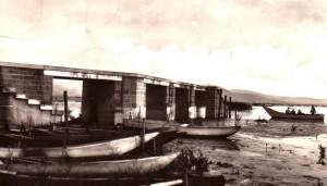 1960   -   Le pontile de San Feliciano.