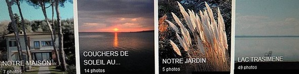 Quelques albums de mes photos favorites déposés sur Flickr
