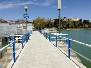 2013 - Pontile de Castiglione del Lago.