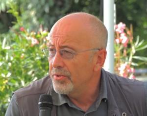 Marco Rufini presenta il suo libro   -   Isola Maggiore, 08/09/2013.