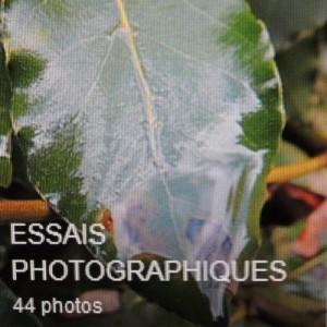 Sixième album : mes essais photographiques.