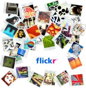 Affiche de Flickr.