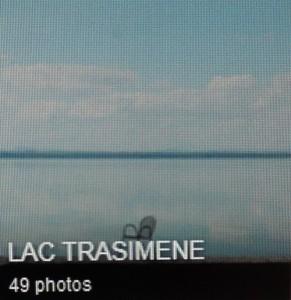 Quatrième album : lac Trasimène.