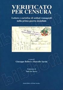 Livre italien sur la censure postale en Italie pendant la première guerre mondiale.