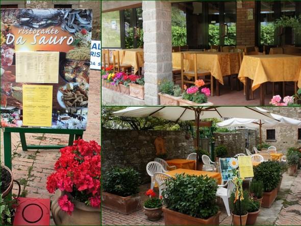 "Le restaurant ""Da Sauro""   -   Avril 2012."