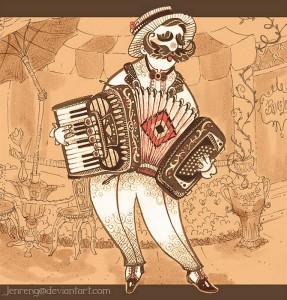 Fisarmonica  -  copyright Jenren G.