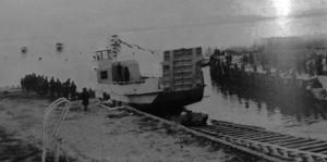 1973    -    Mise à l'eau du Grifone.