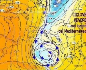 Carte météo du 8 novembre 2013.