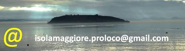 e-mail  de la Pro Loco de l'Isola Maggiore.