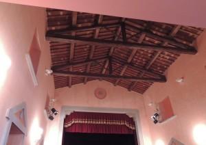 Auditorium del Tratro dell'Accademia di Tuoro sul Trasimeno.