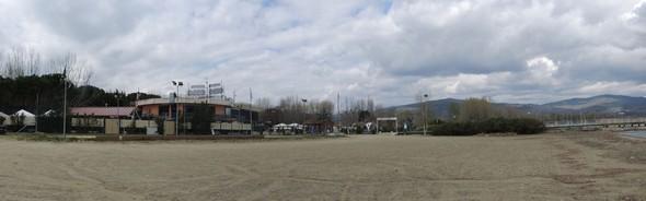 A - 37, panorama de la plage avant sa remise en fonction pour la saison - 3/04/2013.