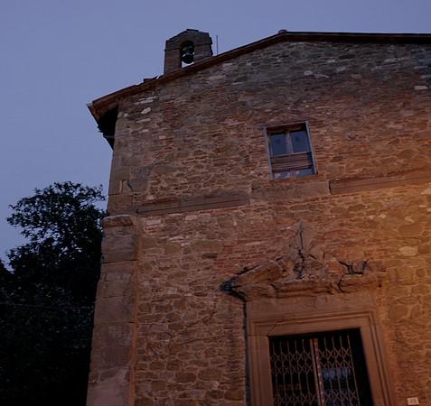 Façade de la Chiesa de la Buona Morte, via Guglielmi, Isola Maggiore.