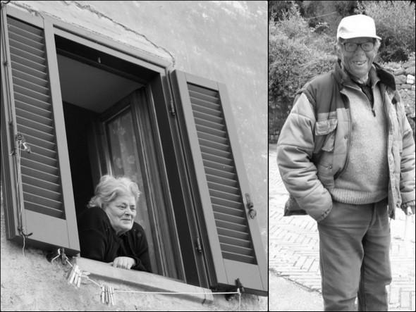 Adriana Fabbroni sempre alla sua finestra e Vittoriano Gabbellini, sempre fuori !