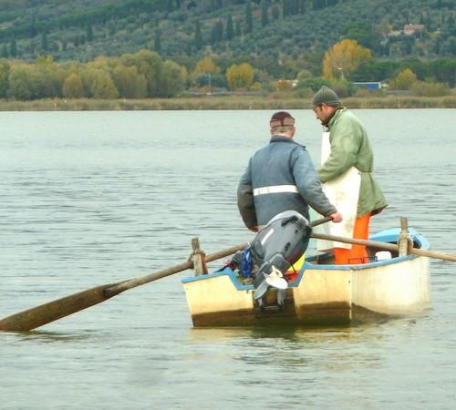Vittoriano Gabbellini e Edoardo Silvi, due compagni di pesca particolarmente efficienti.
