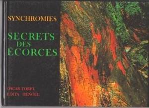 """Couverture de l'ouvrage """"Synchromies"""" publié en 1980 par Oscar Farel."""