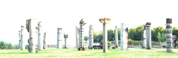 Onirisme : l'arrivée des extra-terrestres  - Le Campo del Sole à Tuoro-Navaccia,  03/06/2014.