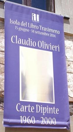 Mostra di opere di Claudio Olivieri.