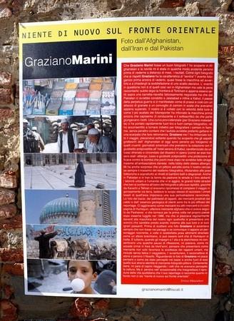 Mostra delle foto di Graziano Marini.