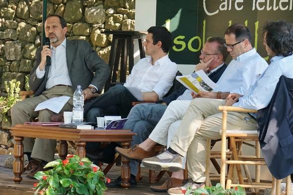 Café Letterario  -  28 giugno 2014 :  Seduzione Etrusca a Cortona fra Gran Bretagna e Italia.