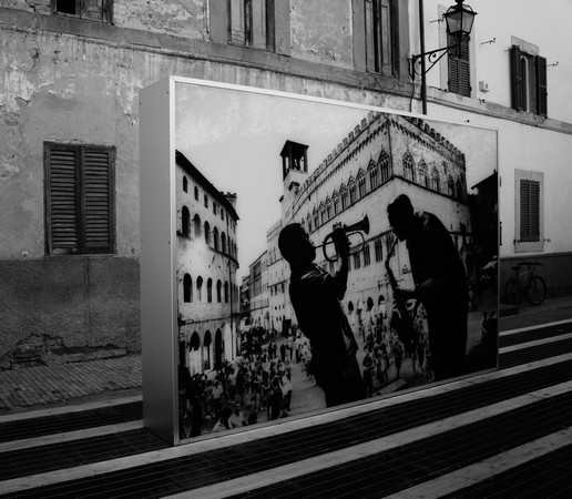 Umbria Jazz, Piazza IV Novembre, Perugia  -  Steve McCurry,  2013.